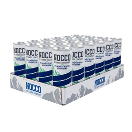 Nocco Limited Winter Edition Blueberry 24x330ml