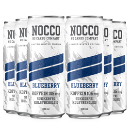 Nocco Limited Winter Edition Blueberry 6x330ml