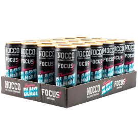 Nocco Focus 3 Raspberry Blast 24x330ml