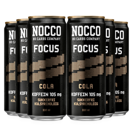 Nocco Focus Cola 6x330ml
