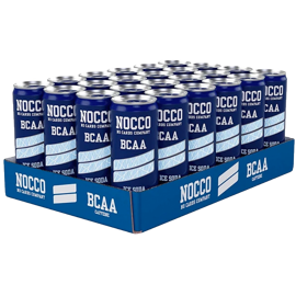 NOCCO Ice Soda 24x330ml
