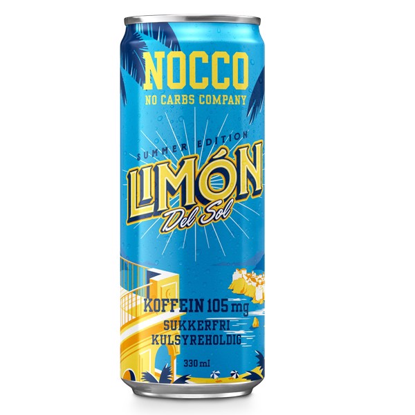 Nocco Limon Del Sol 24x330ml