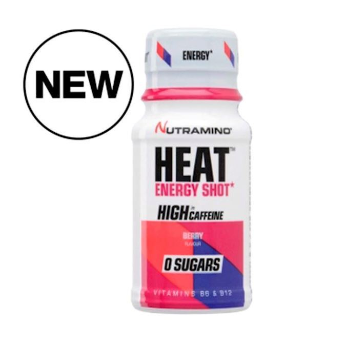 Nutramino Heat Energy Shot Berry 12x60ml