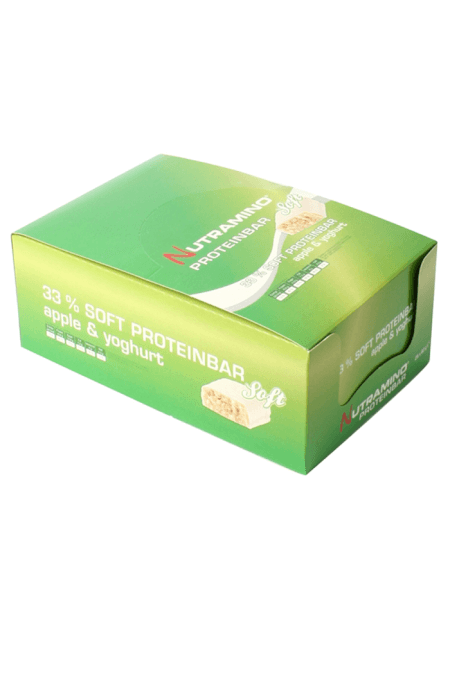 Image of   Nutramino Soft Æble Yoghurt Bar (25 x 60 gram)