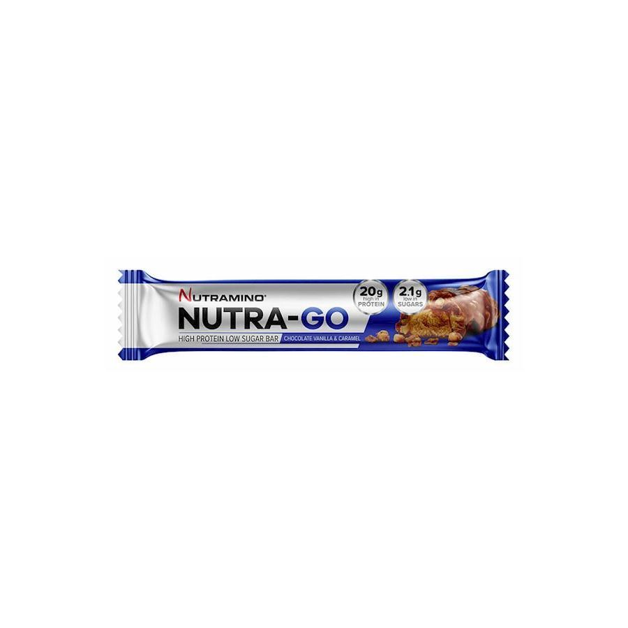 Image of   Nutramino Nutra-Go Chocolate Vanilla and Caramel (12x64g)