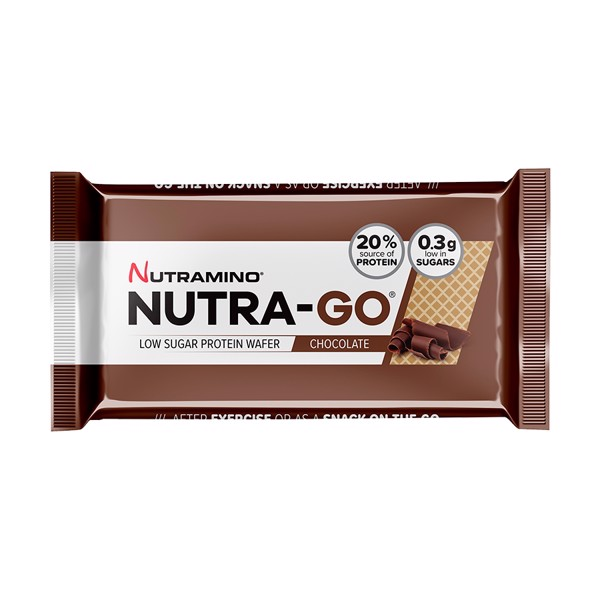 Image of Nutramino Nutra-Go Protein Wafer Chocolate 12x39g