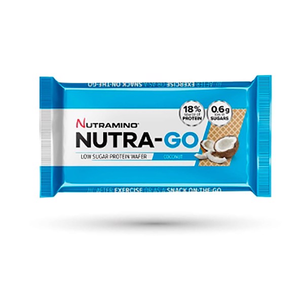 Image of Nutramino Nutra-Go Wafer Coconut 12x39g