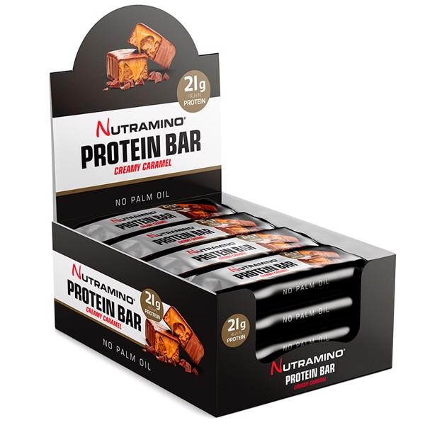 Nutramino proteinbarer fra Bodyman