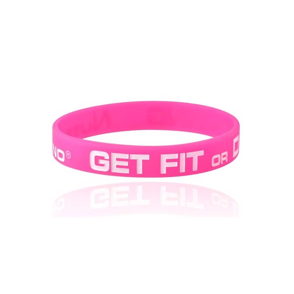 Image of Nutramino Get Fit Wristband Pink