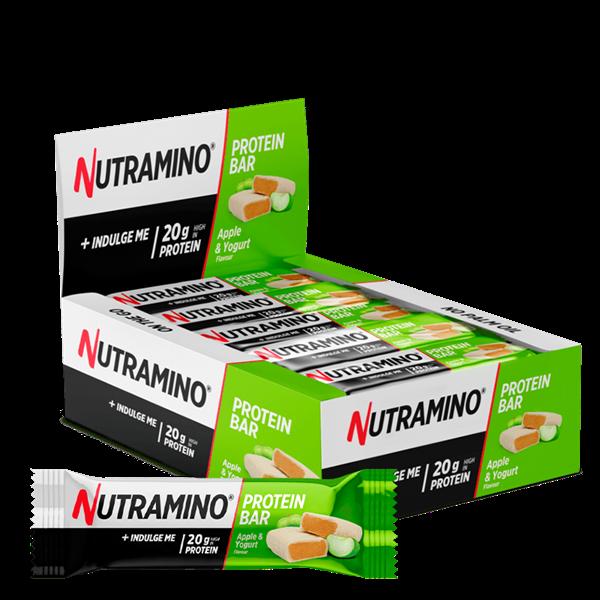 Nutramino Protein Bar Soft Apple Yoghurt 25x60g