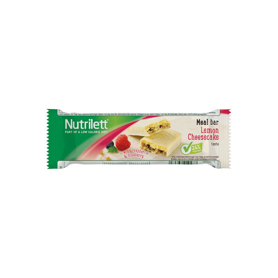 Image of   Nutrilett Lemon Cheesecake Meal Bar 15x56g