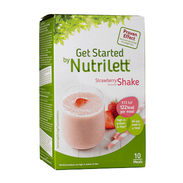 Nutrilett VLCD Strawberry Shake 10x33g