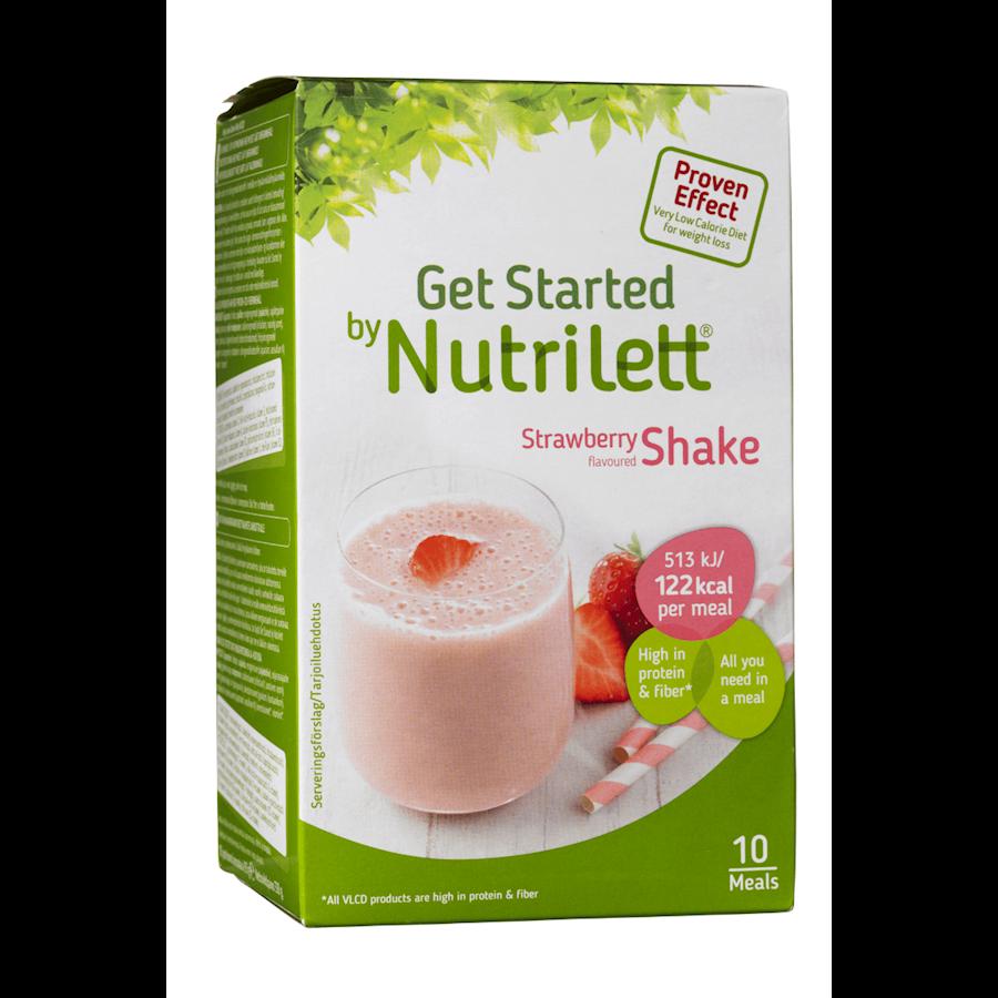 Billede af Nutrilett VLCD Strawberry Shake 10x33g