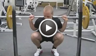 OL squat vs. Power squat