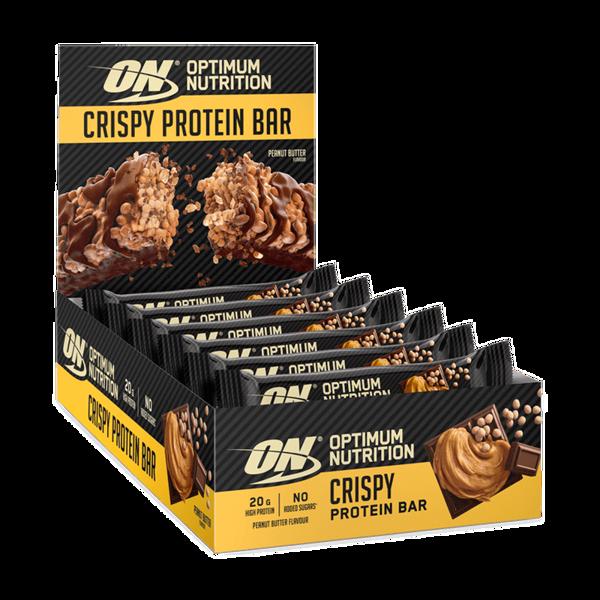 Optimum Nutrition Crispy Bar Peanut Butter 10x65g