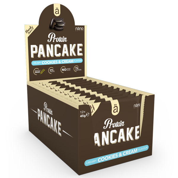 Image of   Ä Protein Pancakes Cookies & Cream 12x45g