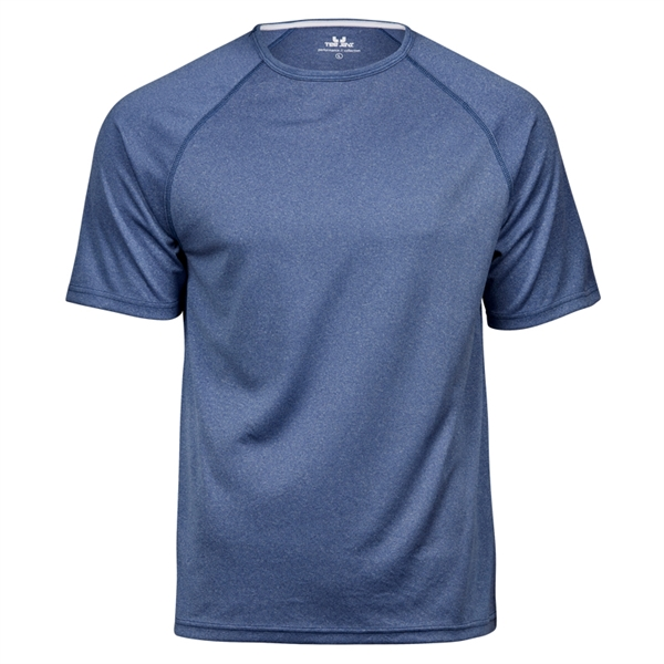 Performance Tee Blue Melange