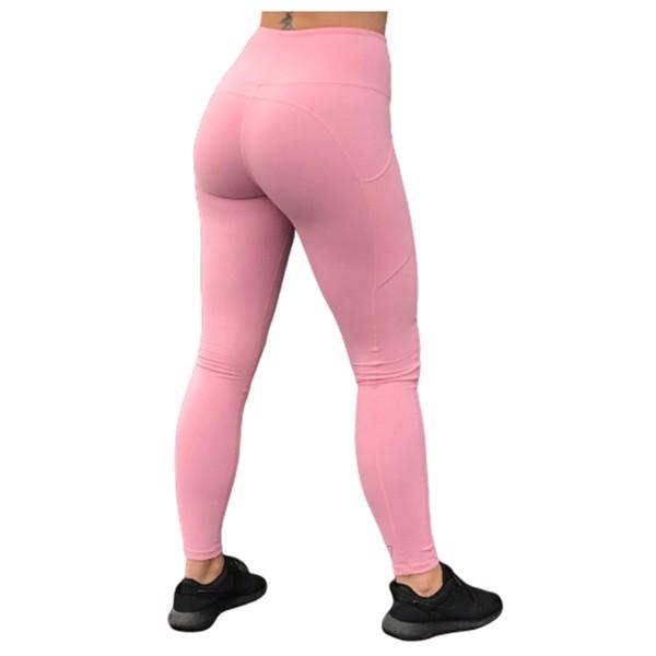 Image of BM High Waist Pocket Tights Light Pink