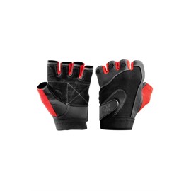 BetterBodies 'Pro' Lifting Gloves Black/Red