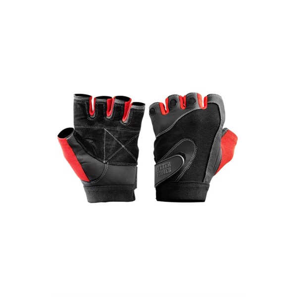 BetterBodies Pro Lifting Gloves Black/Red