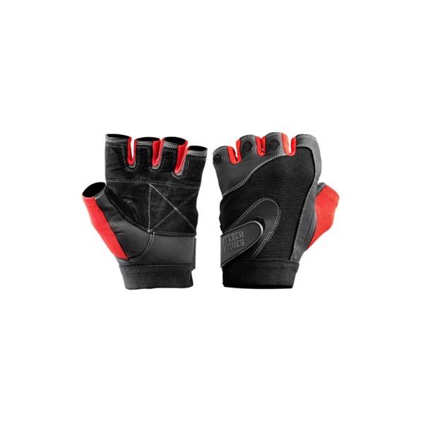 Billede af BetterBodies Pro Lifting Gloves Black/Red