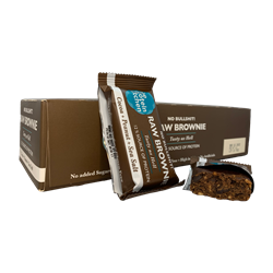 The Protein Kitchen Raw Bar Peanut Brownie 12x50g