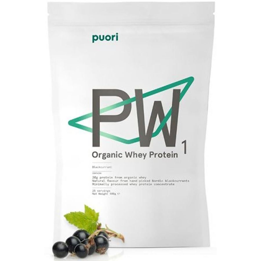 Image of   Puori PW1 Organic Whey Protein Blackcurrant 900g