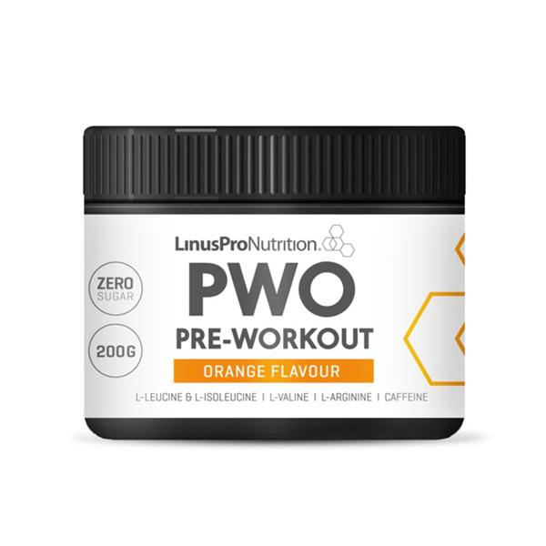 Billede af LinusPro Pure Pre-Workout Orange 200g