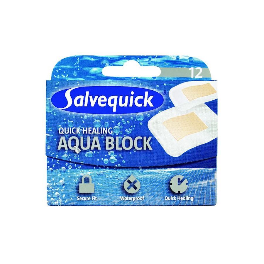 Image of   Salvequick Aqua Block 12 stk