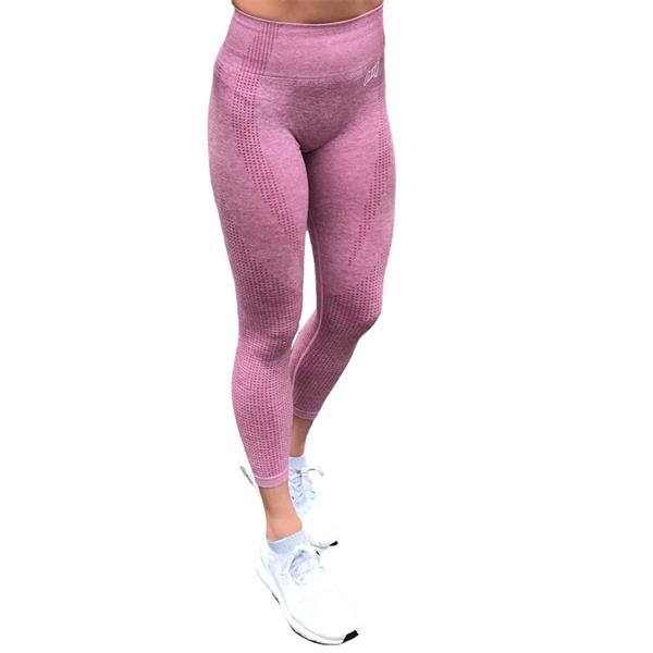 Image of BM Seamless High Waist Tights Light Pink
