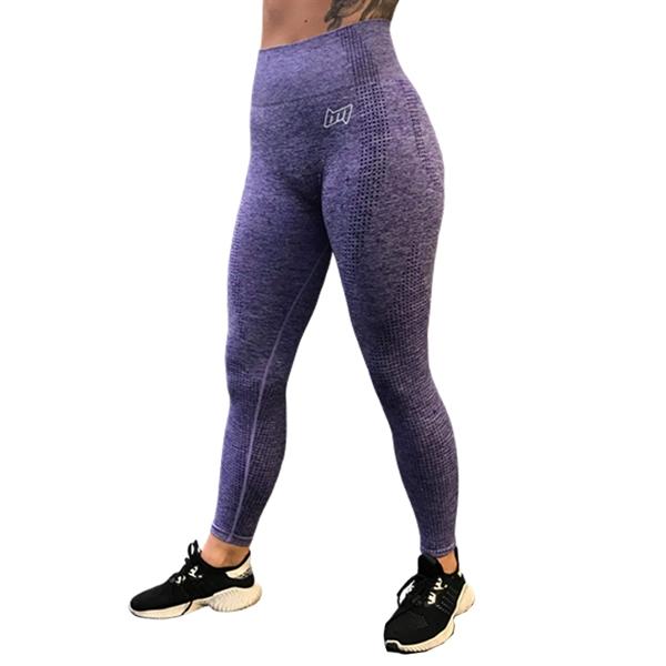 Image of BM Seamless High Waist Tights Purple