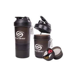 Smartshake Original 600 ml Black Gunsmoke