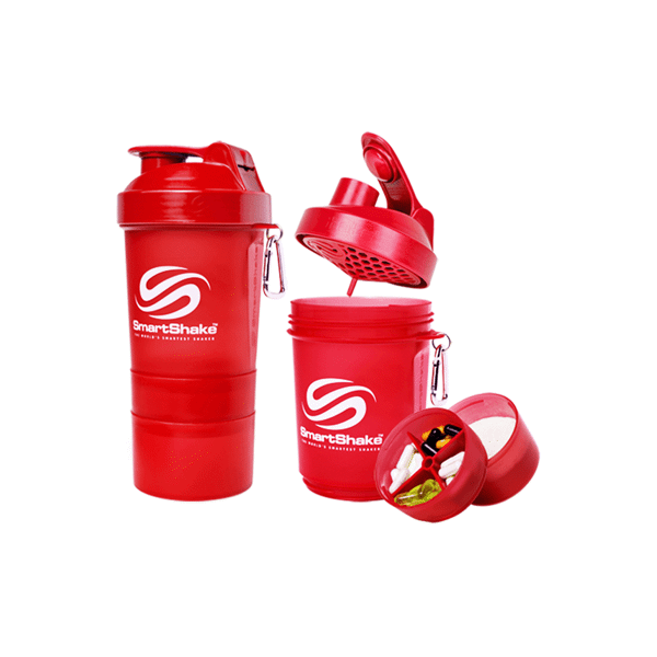 Image of   Smartshake Original 600 ml Red