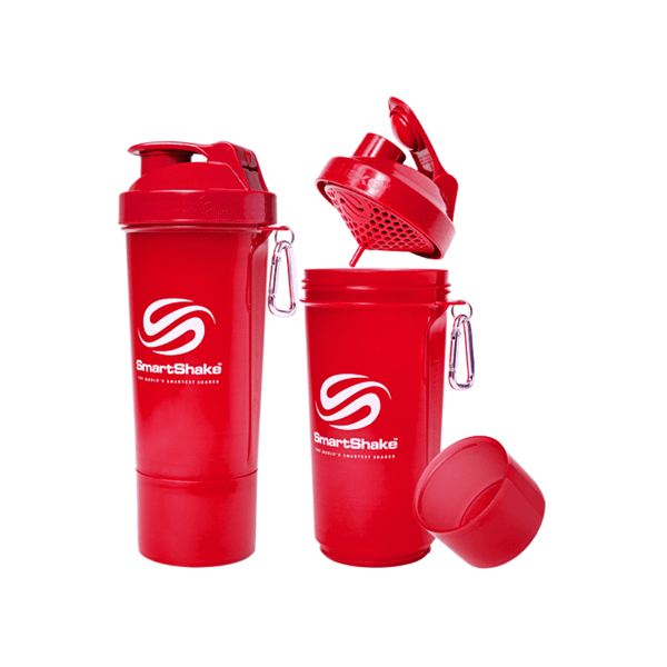 Image of   Smartshake Slim 500 ml Red