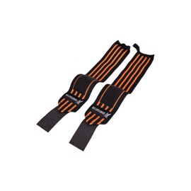 Sportsact Wrist Wraps - Sort/Orange