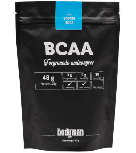 Billede af Bodyman BCAA Sports Soda 240g