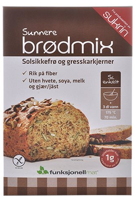 Image of   Brødmix glutenfri Lowcarb-brød