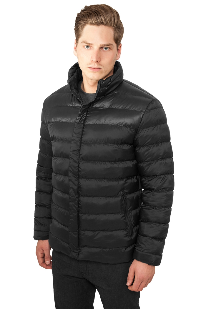 block bubble jacket