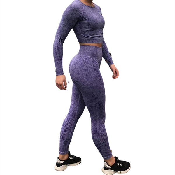BM Seamless Set Purple