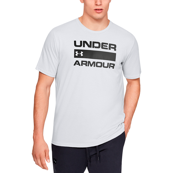 Under Armour Team Issue Wordmark Short Sleeve Halo Gray