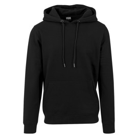 Urban Classics Basic Sweat Hoody Black