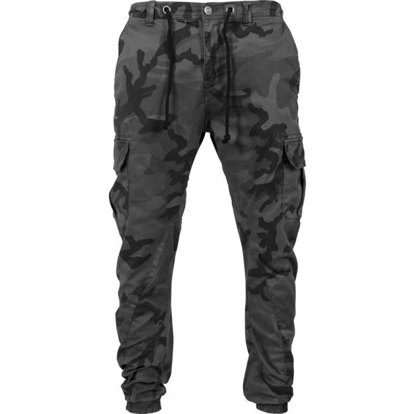 Urban Classics Camo Cargo Jogging Pants Grey Camo