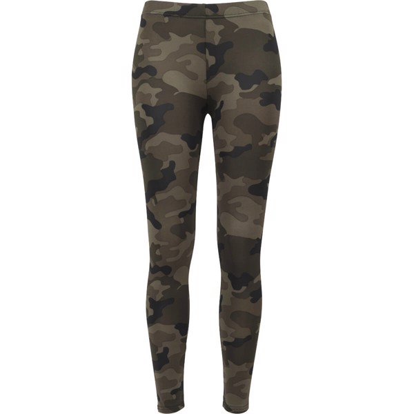 Image of   Urban Classics Ladies Camo Leggings Wood Camo