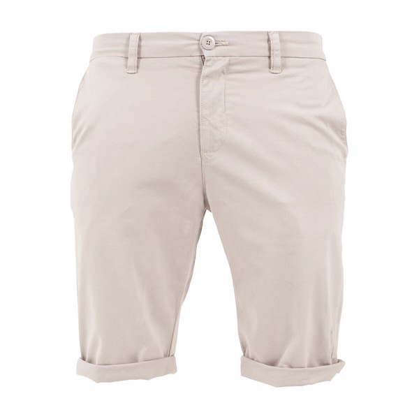 Image of   Urban Classics Stretch Turnup Chino Shorts Sand