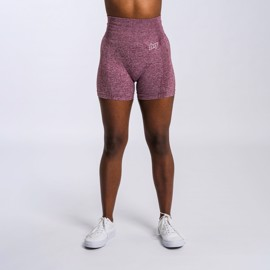 BM Seamless Shorts Wine Red