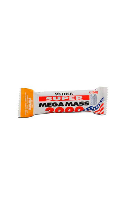 Image of   Weider Super Mega Mass Bar 24x60g