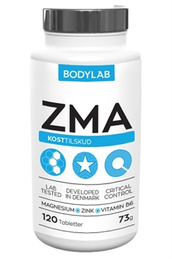 Image of   Bodylab ZMA 120 stk.
